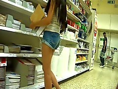 Indian Teen In Shorts
