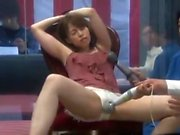 Japanese cunt fingering toying