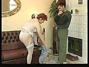 Old Fat Mature Woman Fucks Young Boy