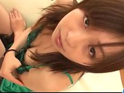 Nozomi Hatsuki gorgeous teen plays with her vagina