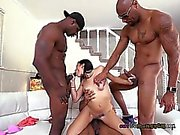 Chick Michelle Martinez Loves Playing With Black Cocks