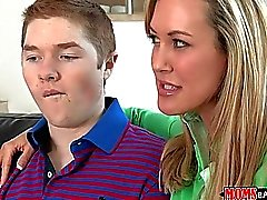 Brandi Love sex lessons for a teen boy