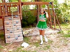 Katie Cummings The Sexy Cheerleader