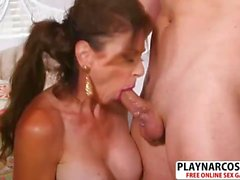 Hottie Not Step Mom Cashmere Gives Blowjob Sweet Tender Stepson