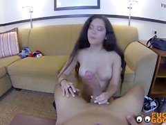 Brunette Teen Wants To Have Some Fun