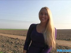 PublicAgent Teen blonde with the real big boobs