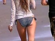 spied teen big jiggly ass in bikini 60,,