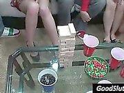 boobs flashing at christmas party