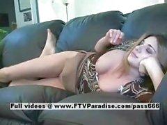 Rachel lovely amateur blonde woman fisting