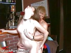 Two Drunk Ladies Get Closing Fuck