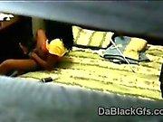 Spy cam caught young black beauty masturbating in her bedroom