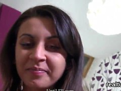 Charming czech teenie gets seduced in the supermarket and pl