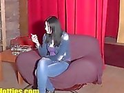 Czech 19yo girl fucked at the CASTING