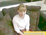 Casting porn Interview Cutie Violet