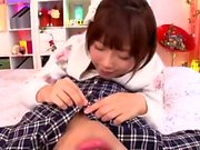Japanese teen in a hardcore sex