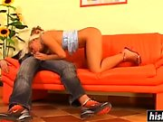European babe gets an anal pounding
