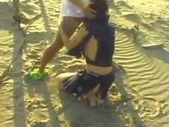 Hardcore sex on the beach