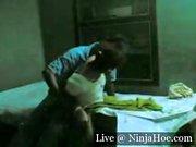Desi man pounds his wife