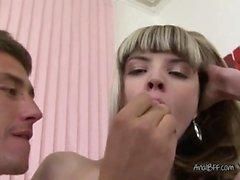 Teen Blondie Gets All Her Holes Poked By Boyfriend