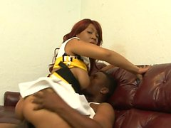 Coco Dawn pleases a black cock