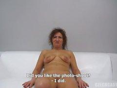 Czech Stepmom Casting - Mature Emelie