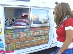 icecream truck perfect titty teen gets plowed hard and cum i
