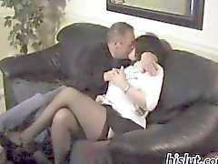 One of a kind wife cheating on her hubby