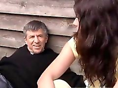 Older mature amateur and russian teen dp gangbang Peter has