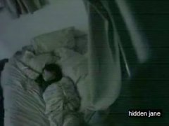 Asian Girl masturbates in bed
