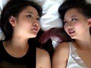 Two asian lesbian teens