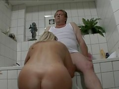 German Chubby Daddy with thick Dick