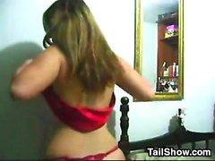 Horny Teen From Brazil