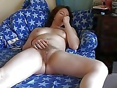 Chubby Teen GF masturbating her Wet Pussy