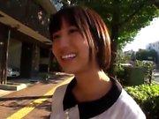 Japanese teen handjob in bus full of people