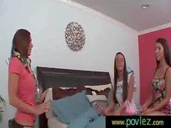 Hot Girl Seduced By Horny Lesbian 14