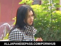 Maria Ozawa shows her hot cleavage outdoor