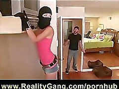HOT young burglar Hayden Winters is caught and fucked by big-dick