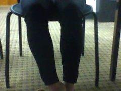 Candid Japanese Girl Shoeplay
