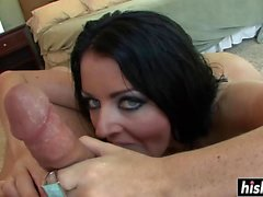 Sophie Dee gets her asshole plowed