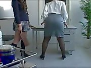Asian Schoolgirl Makes Teacher Lesbian Pet Part 9