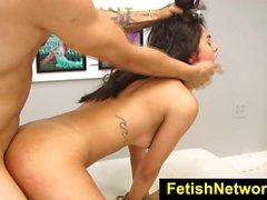 FetishNetwork Gina Valentina gagged teen