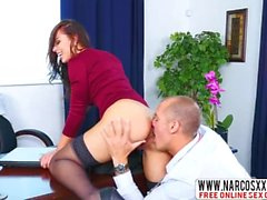 Glorious Not Mom Aidra Fox In Stockings Gets Extreme Dick
