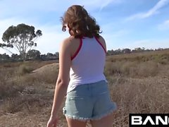 Amateur Teen Hottie Hayden Fucks In Public For First Porn