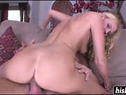 Blonde cutie gets nailed in various positions