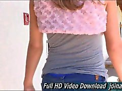 Ashley loves experiencing her first time in adult here on FTV