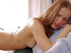 Julie and her boyfriend love oral sex