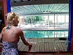 Milf slammed by pool guy