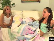 Two chicks get to satisfy each other