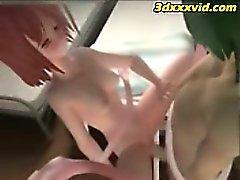 Hentai - Tentacles Fuck 3D Emo Teen! - 01