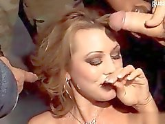 Young wife deep throat